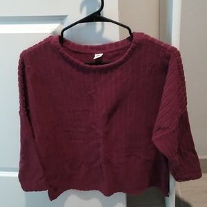 Old Navy quarter sleeve sweater